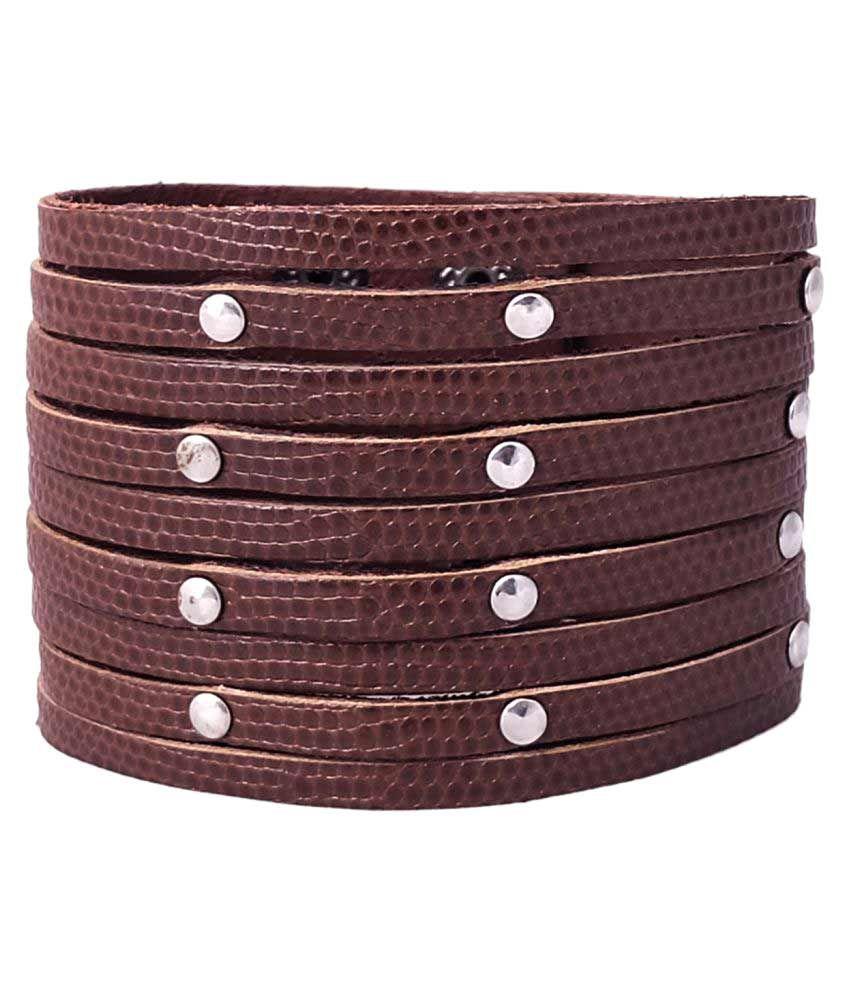 Super Drool Brown Bracelet