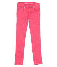 Pepe Pink Plain Jeans