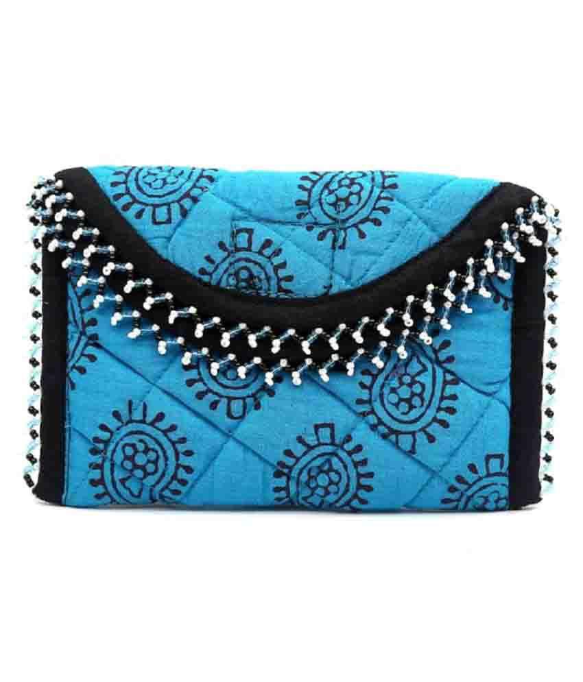 Aditi Trends Blue Wallet