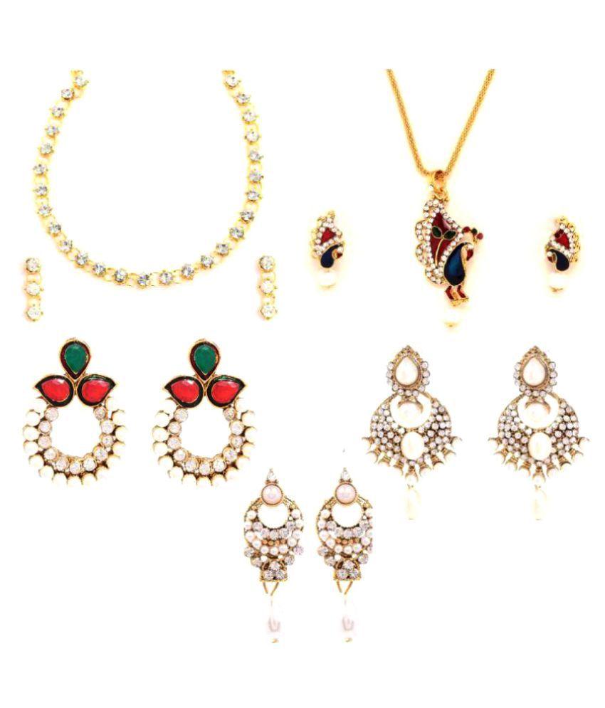 GoldNera Traditional Diwali Festive head to toe combo for Girls/Women