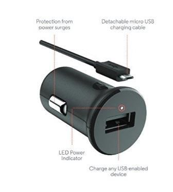 motorola charger. motorola car mobile charger - qualcomm 2.0, quick charge, r