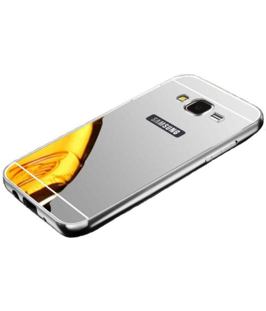size 40 14847 16e7c Samsung Galaxy J7 (J-700F) Bumper Cover by Exoic81 - Silver