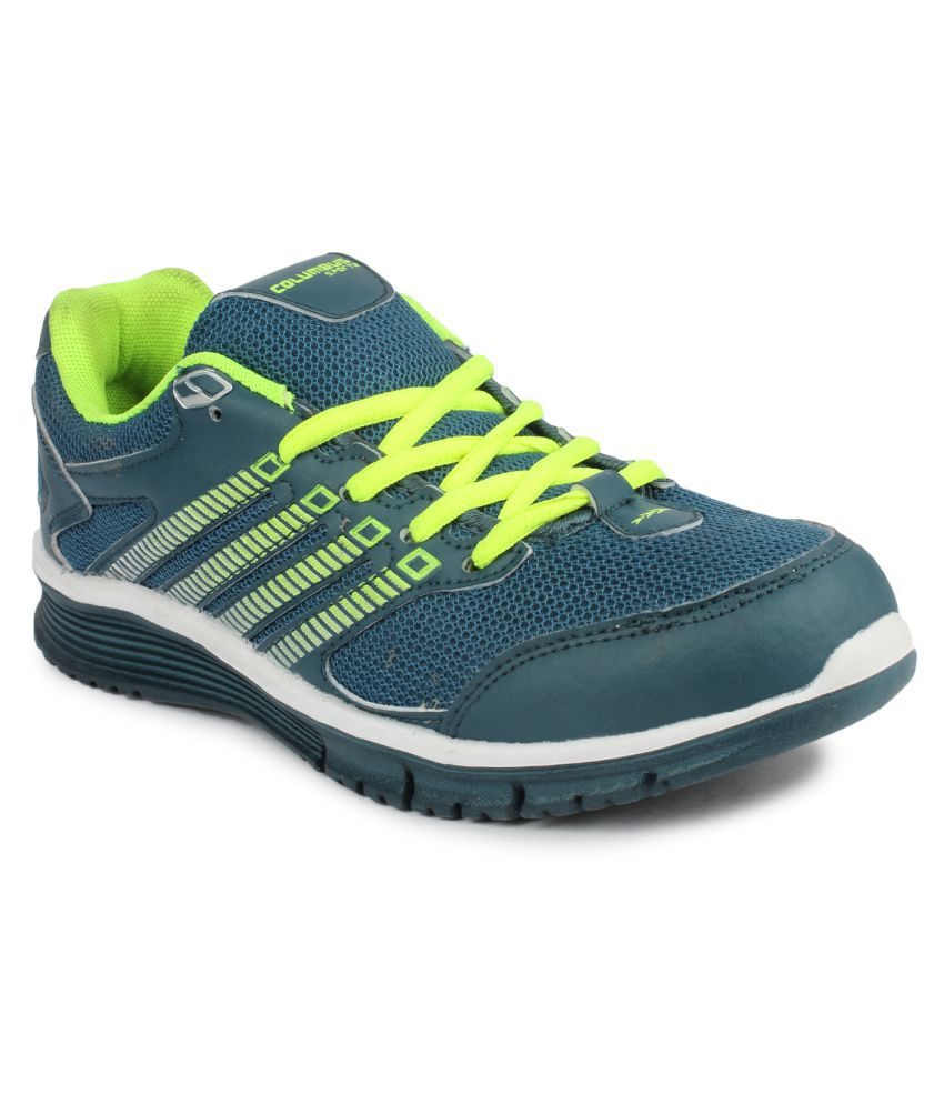 Columbus Green Running Shoes