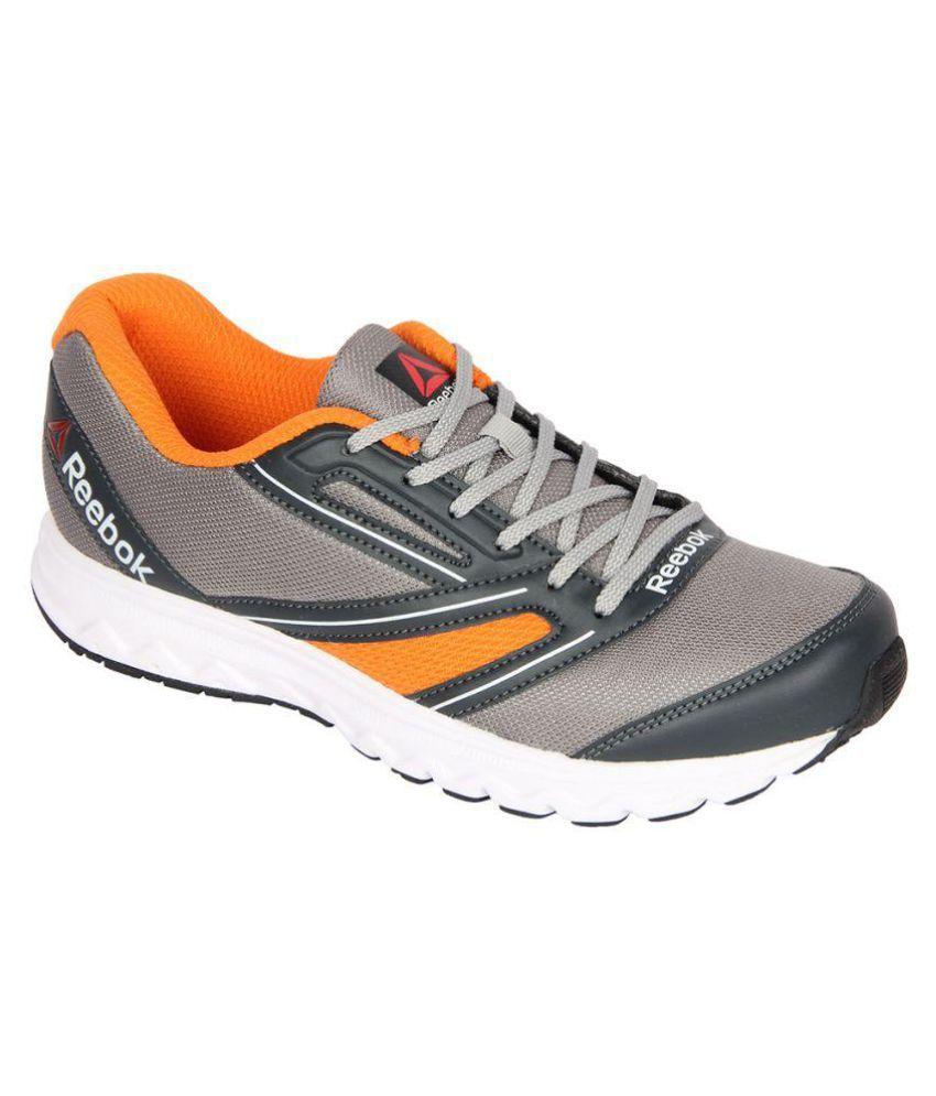 Reebok EXPLORE RUN Gray Running Shoes