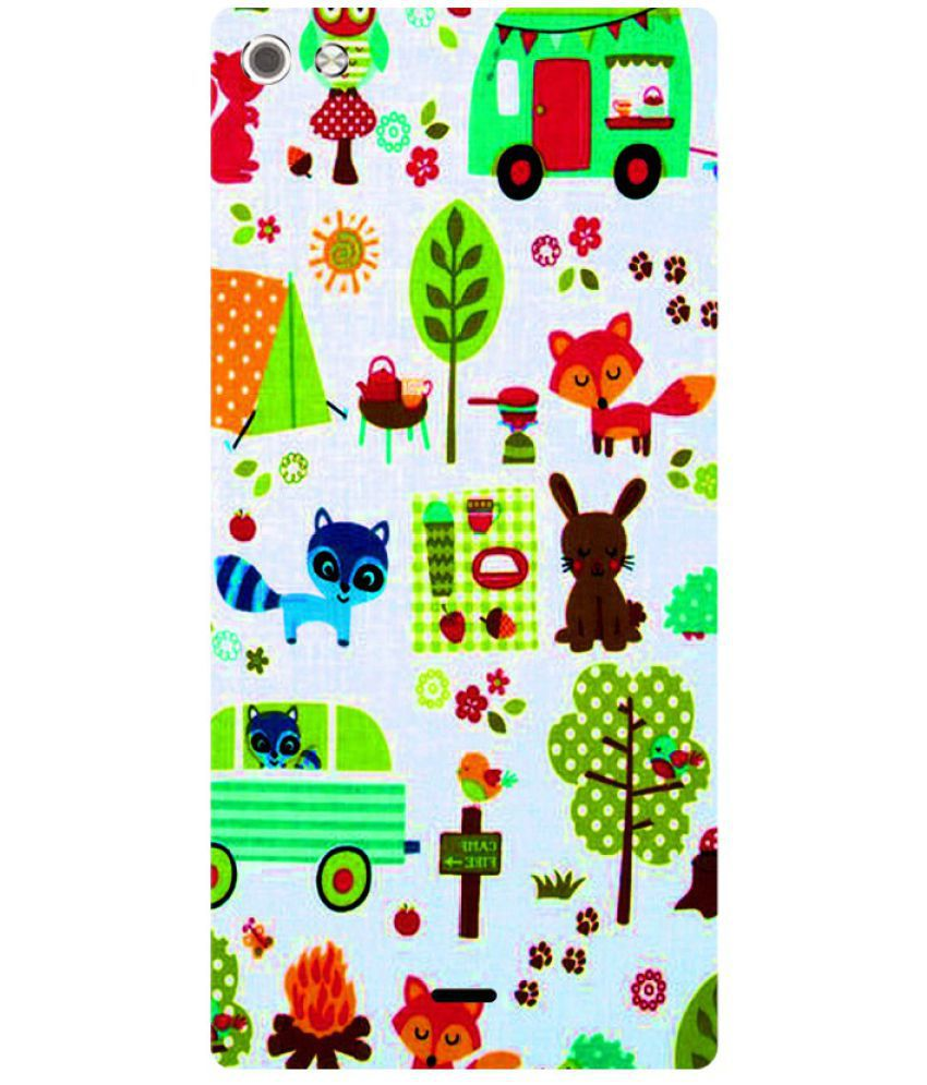 Micromax Canvas Sliver 5 Q450 Printed Cover By Skintice