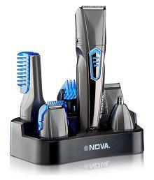 Nova Waterproof NG1175 multigroom Multigrooming Kit ( Black )