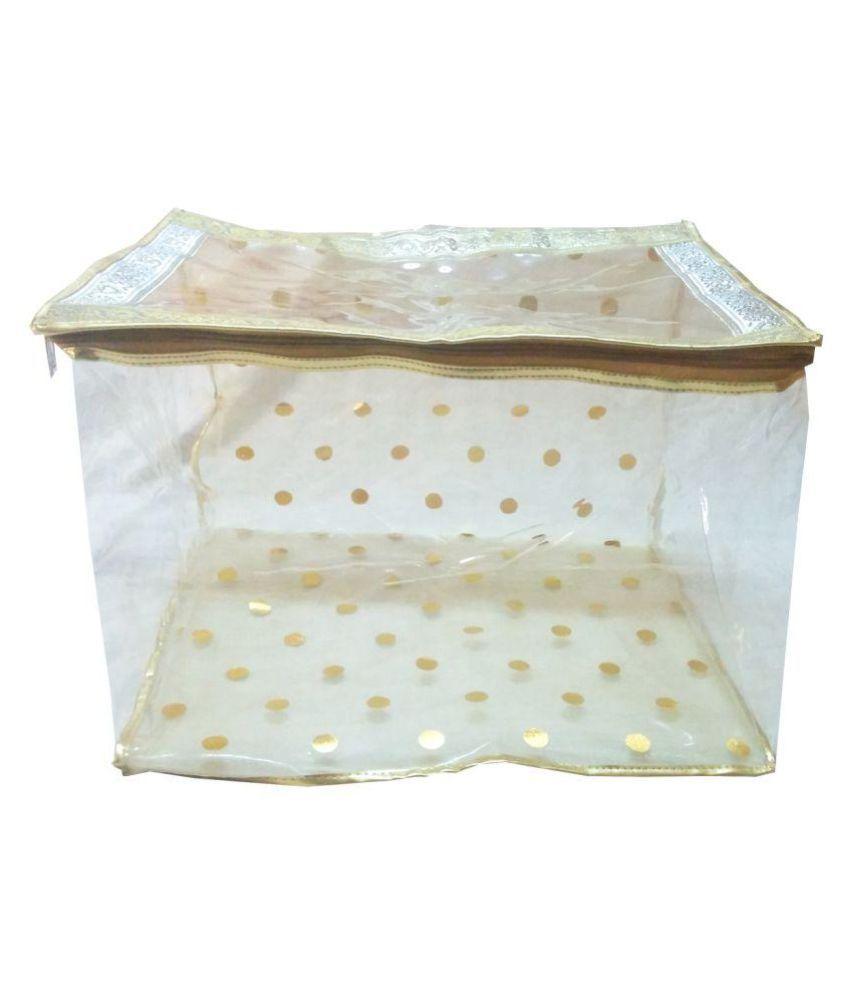 Angelfish Gold Saree Covers - 1 Pc
