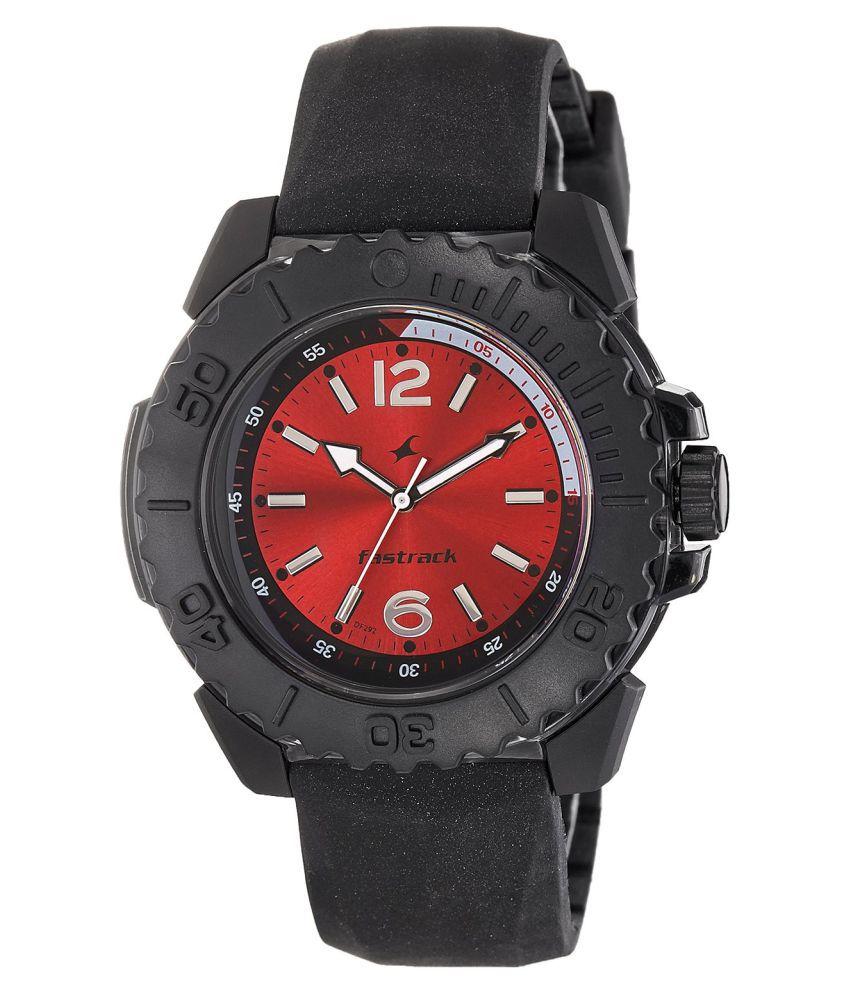 fastrack 38020pp02 black watch buy fastrack 38020pp02