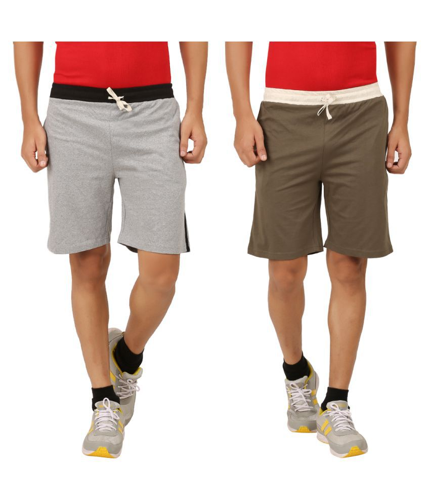 Rawpockets Multi Shorts Pack of 2