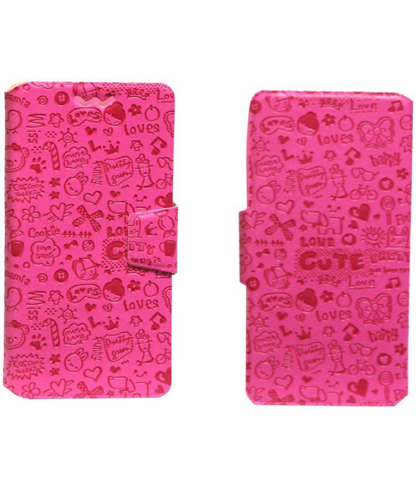 HTC Sensation XL Flip Cover by Jojo - Pink