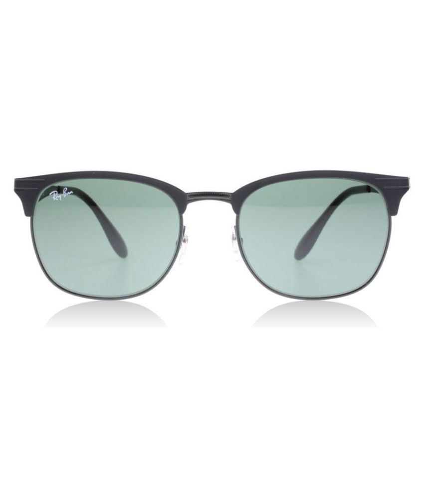 Ray-Ban Green Clubmaster Sunglasses ( rb 3538 186 71 53 ) - Buy Ray ... 561bf4f91e