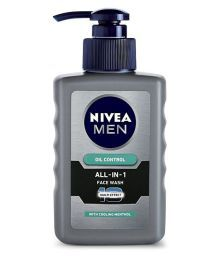 Nivea Men Oil Control All In One Pump  Face Wash 150 Ml Pack Of 3