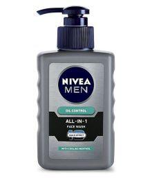 Nivea Men Oil Control All In One Pump  Face Wash 150 Ml