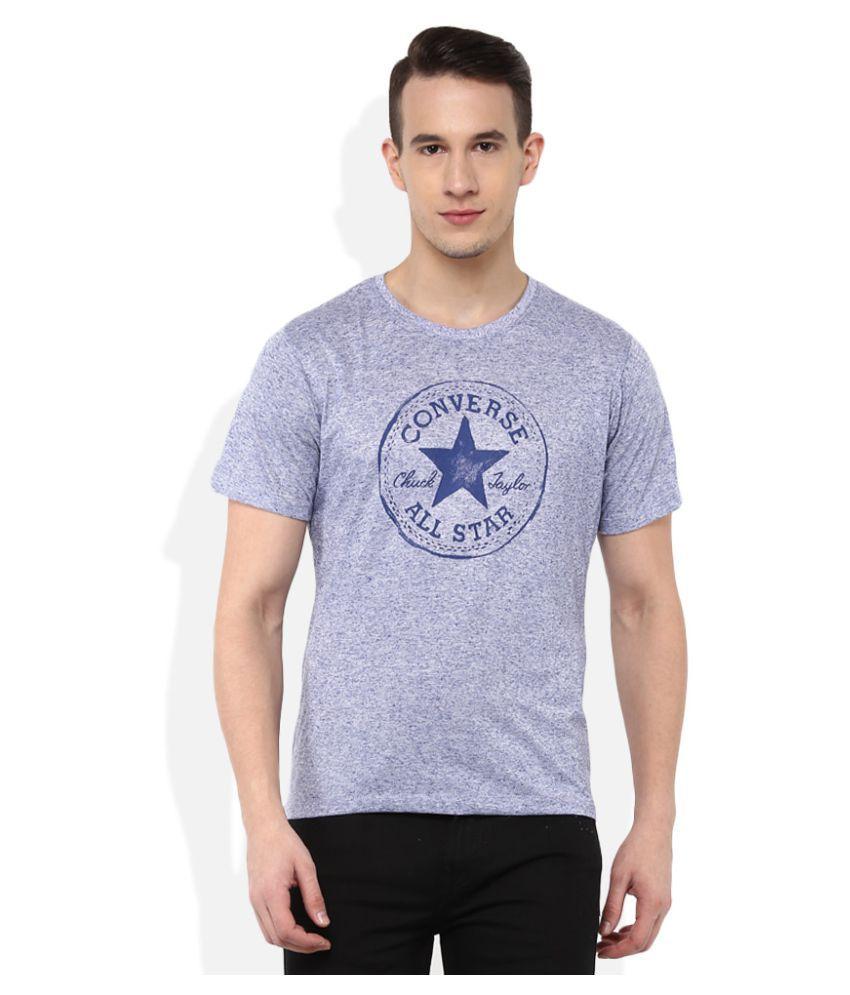 Converse Blue Round T-Shirt