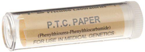 Frey Scientific 569885 PTC Taste Paper (12 Vials of 100 Strips)