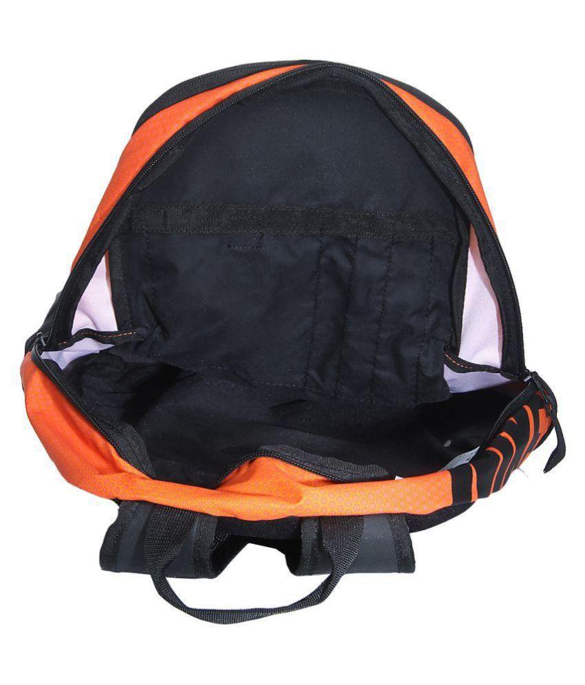 nike orange backpack