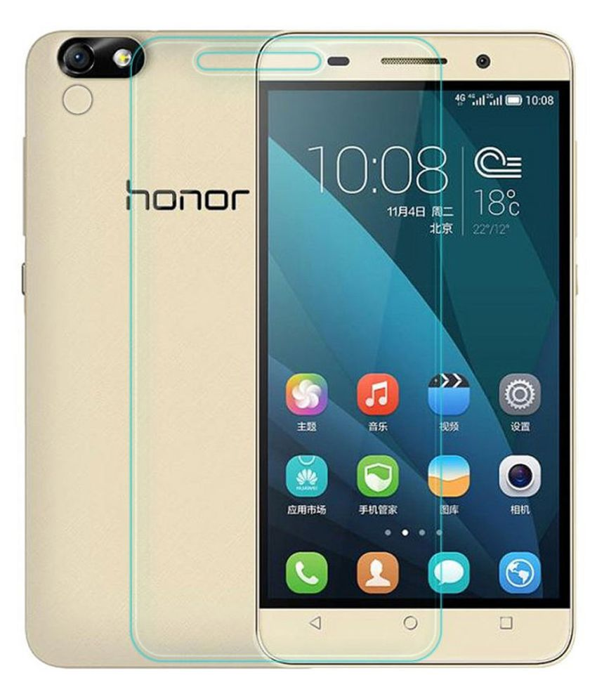 Huawei Honor 4C Tempered Glass Screen Guard By Hook