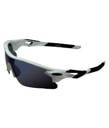 Zyaden Blue Wrap Around Sunglasses ( SP-05 )