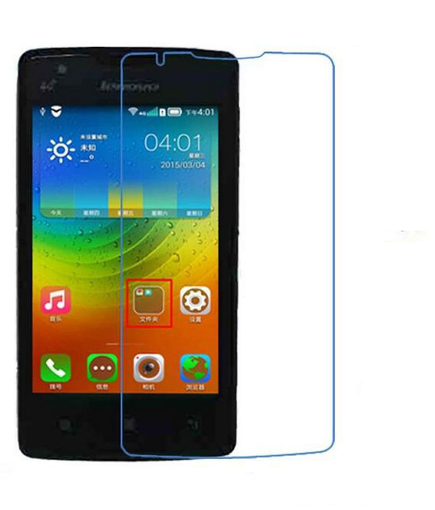 Lenovo A1000 Tempered Glass Screen Guard By Hook