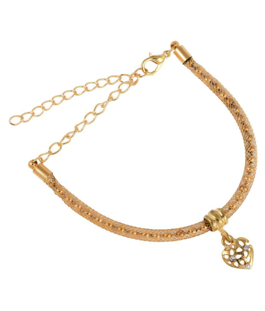 Memoir Golden Pair of Anklets