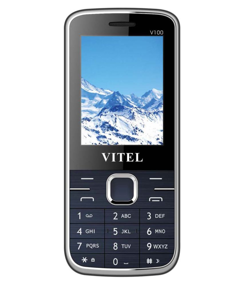 Vitel V100 4GB and Below Blue