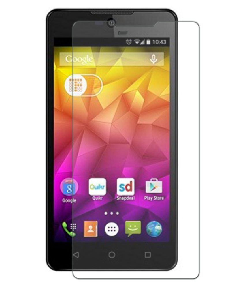Micromax Canvas Selfie 2 Tempered Glass Screen Guard By Hook