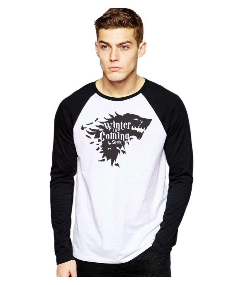 Royal Nesher White Round T-Shirt