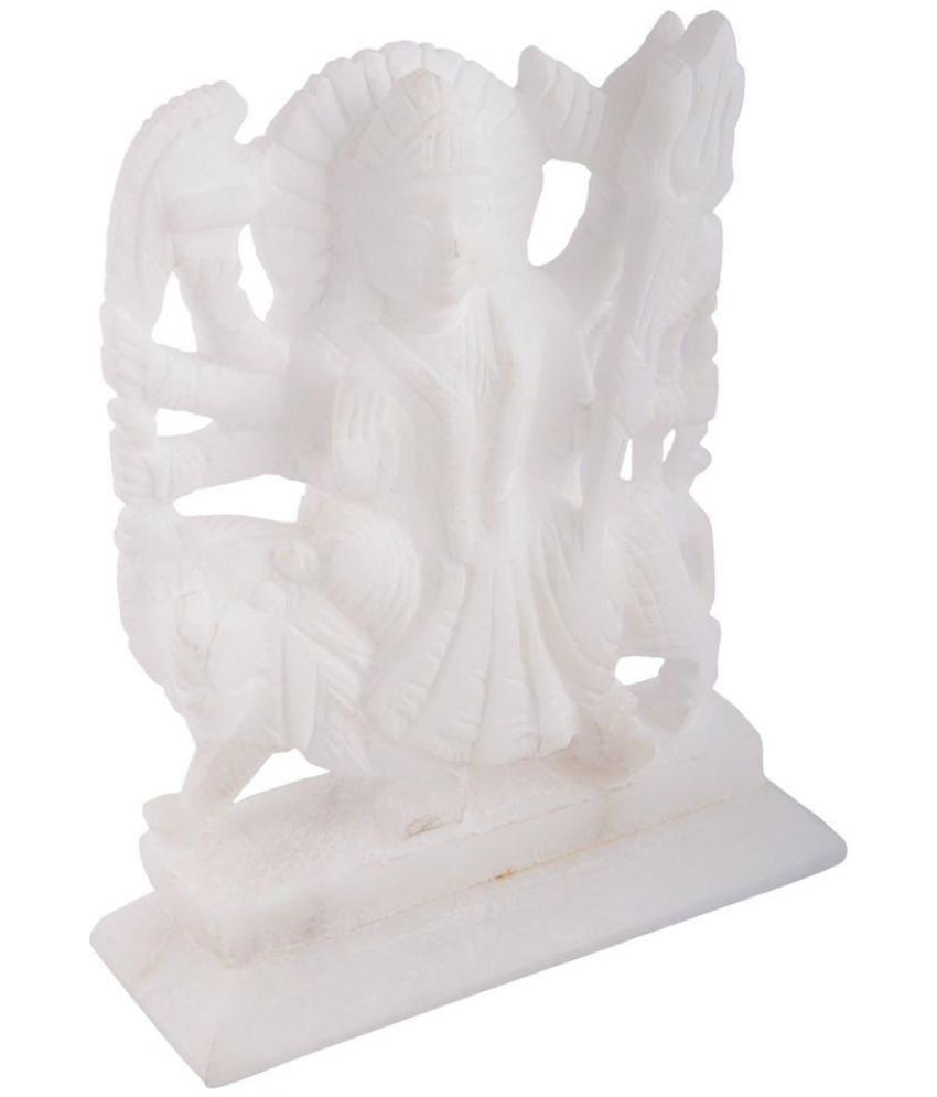Pooja Creation Durga Marble Idol