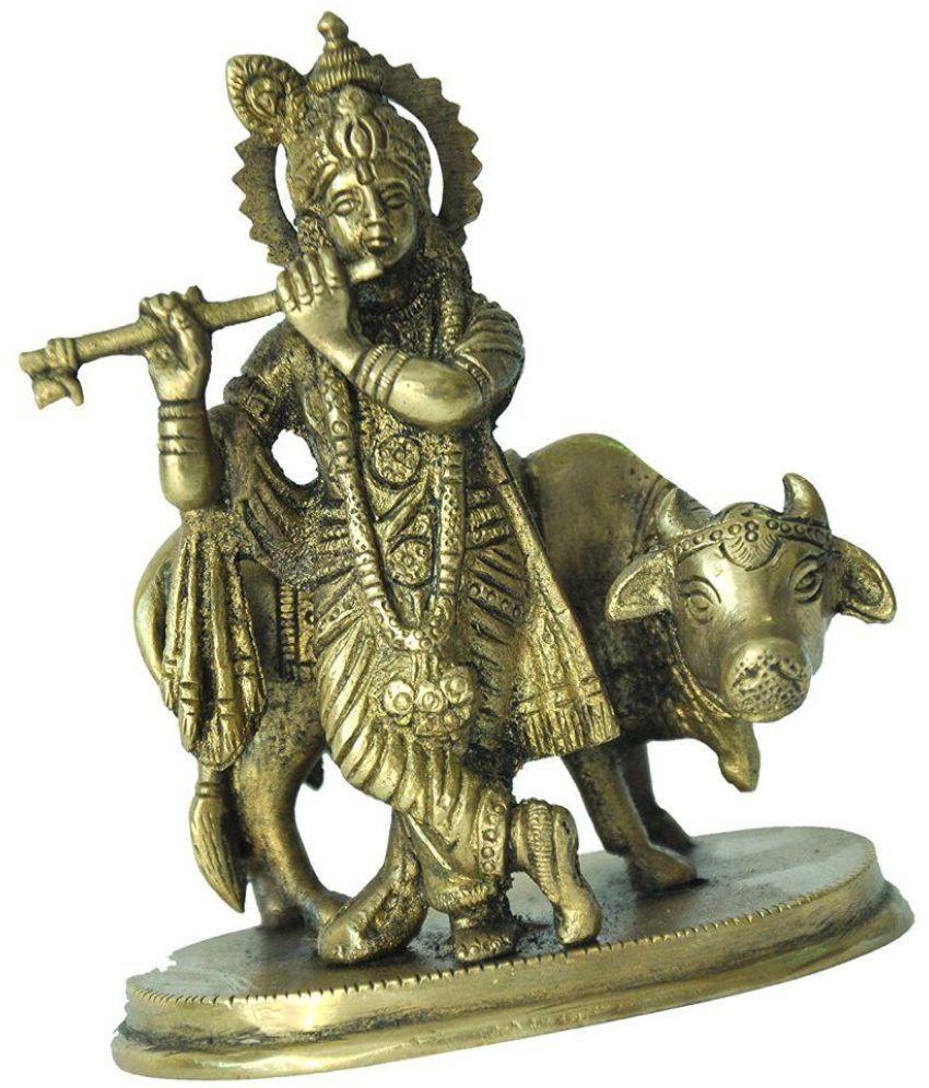 Mohanjodero Krishna Brass Idol