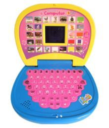 BBS English Learning Led Laptop For Kids With Water Pearls Balls-100