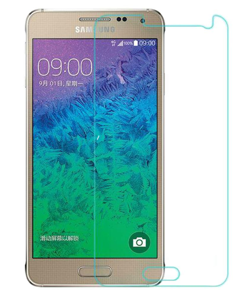 Samsung Galaxy Alpha G850F Tempered Glass Screen Guard By Hook