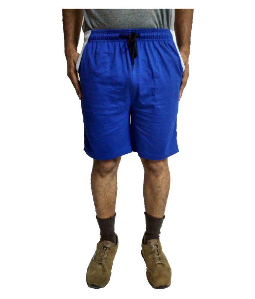 Dynamic Blue Shorts