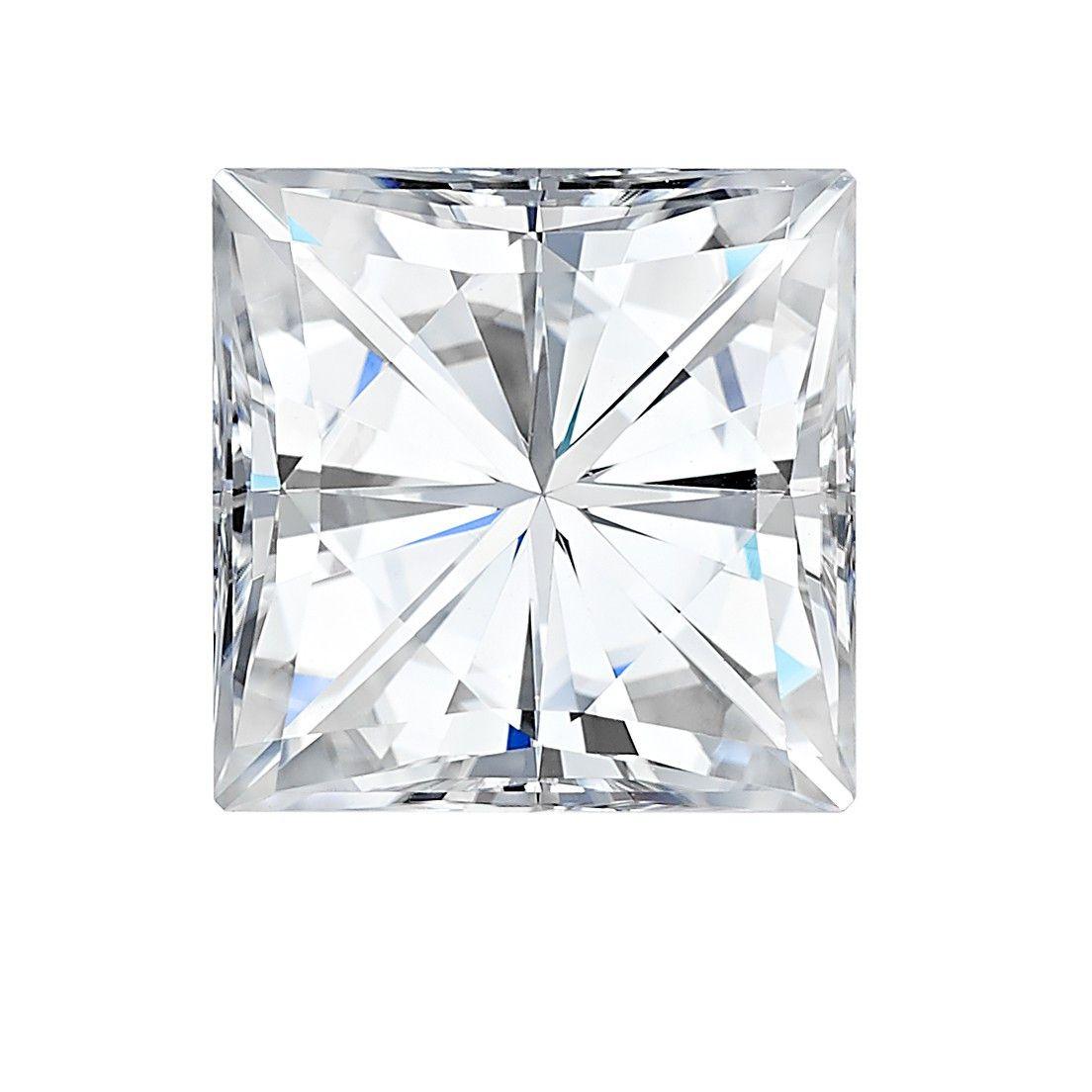 Charles & Colvard (USA) Square Brilliant 4.5mm Moissanite Diamond 0.60ct Equivalent Weight