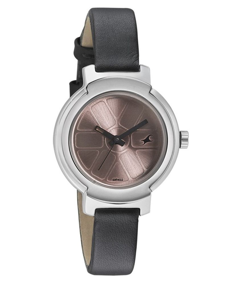 fastrack black analog watch price in india buy fastrack