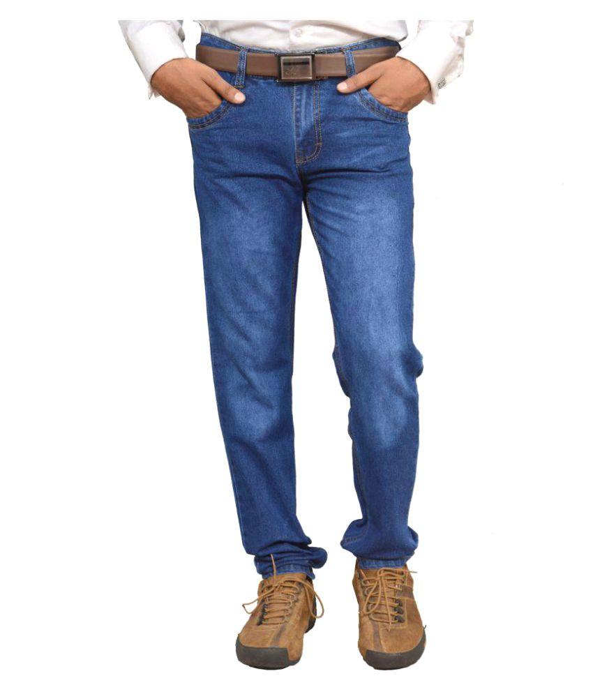 U.S. Origin Blue Regular Fit Faded