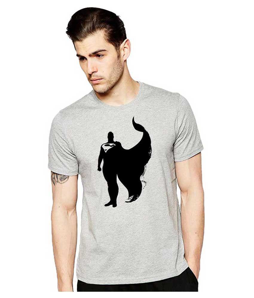 Alen Carter Grey Round T-Shirt