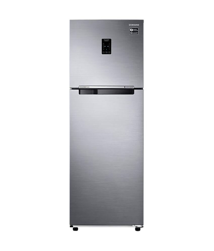 Samsung 255 Ltr 3 Star RT30K3753S9/HL Double Door Refrigerator - Refined Inox