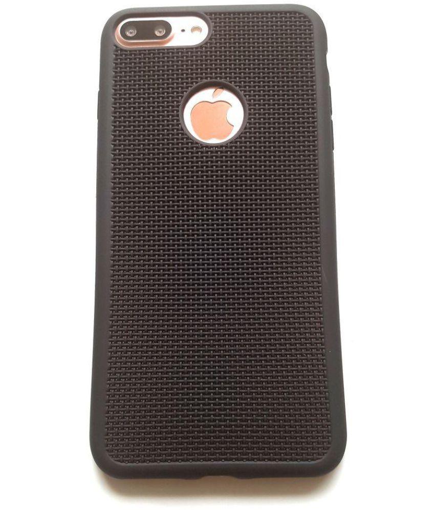 de606edcf01 Apple iPhone 7 Plus Cover by IKAZEN - Black - Plain Back Covers Online at  Low Prices
