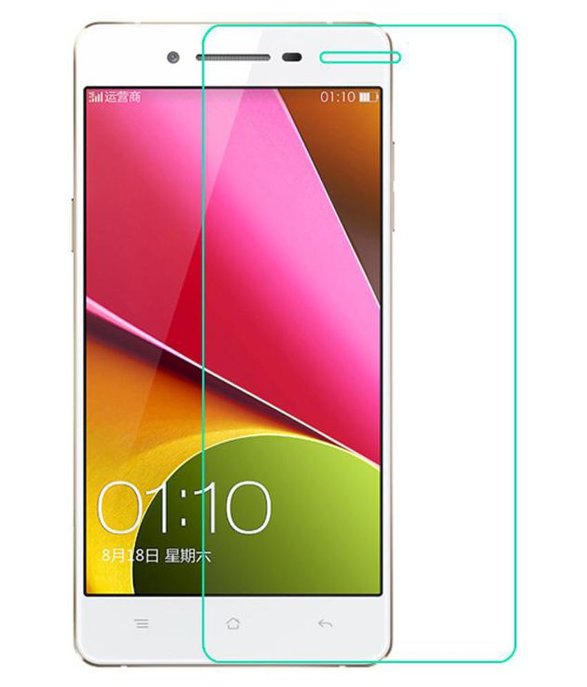 Oppo R7 Lite Tempered Glass Screen Guard By Hook