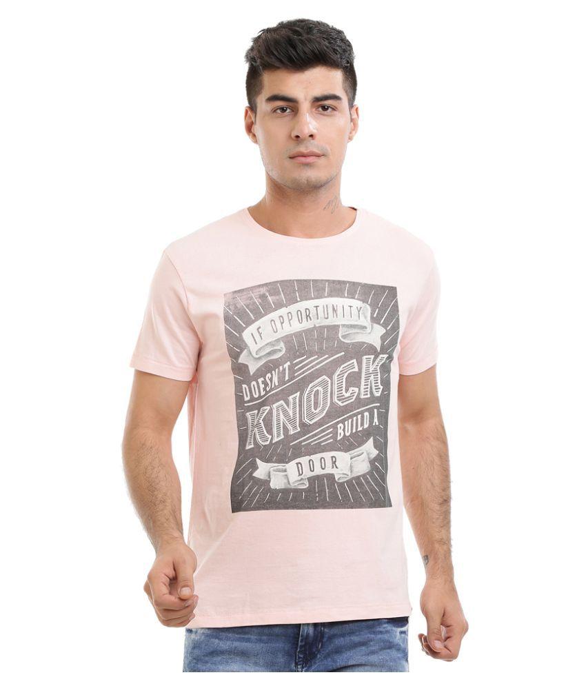 HW Pink Round T-Shirt