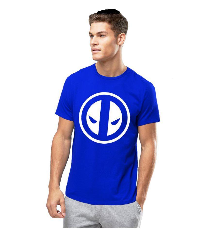 Alen Carter Blue Round T-Shirt