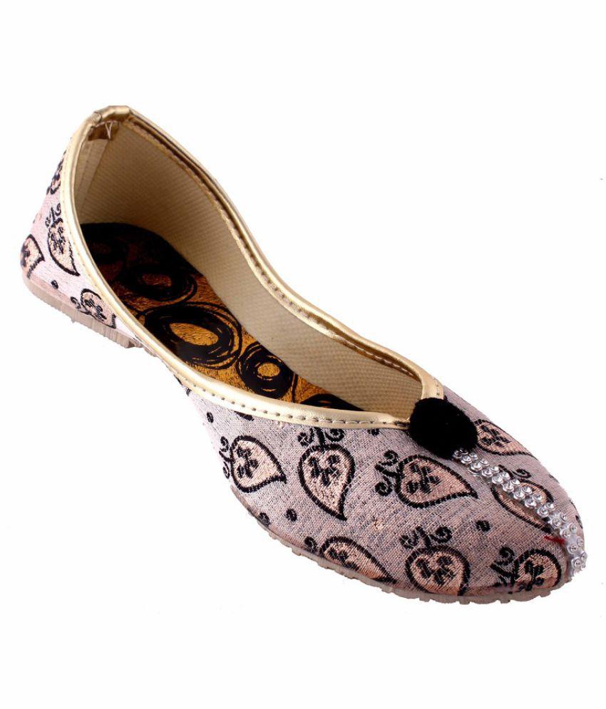 Neerupam Collection Multi Color Flat Ethnic Footwear