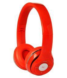Ezzeshopping Over Ear Wireless Headphones Without Mic Orange