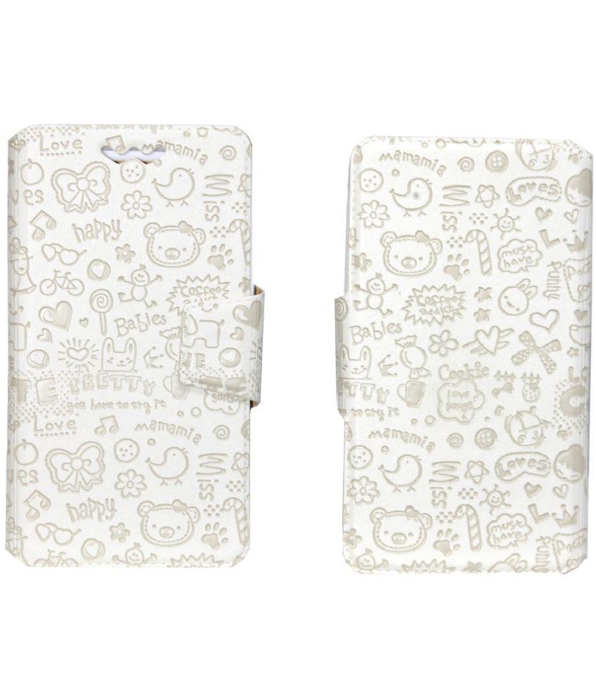 Asus Zenfone Go ZC451TG Flip Cover by Jojo - White