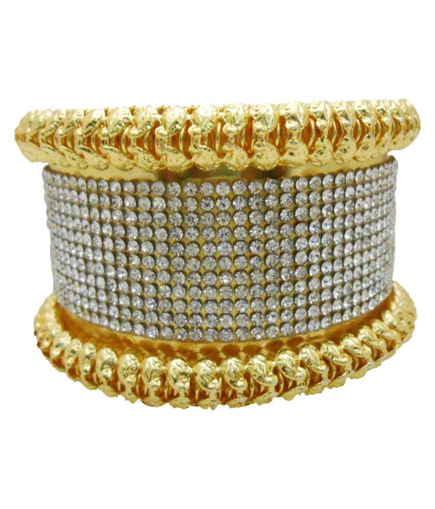 My Design Gold Plated Designer Kada Bangle Bracelet For Women And ...