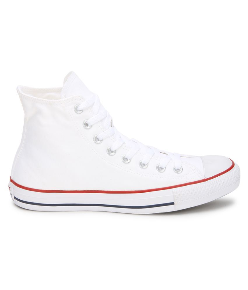 ... Converse All Star 150760CCTHI High Ankle Sneakers White Casual Shoes ... 116c7c30d