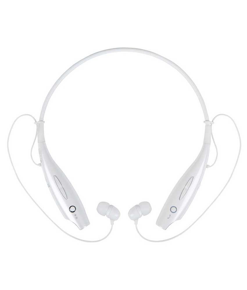 Jiyanshi Motorola Droid Mini Wireless Bluetooth Headphone White