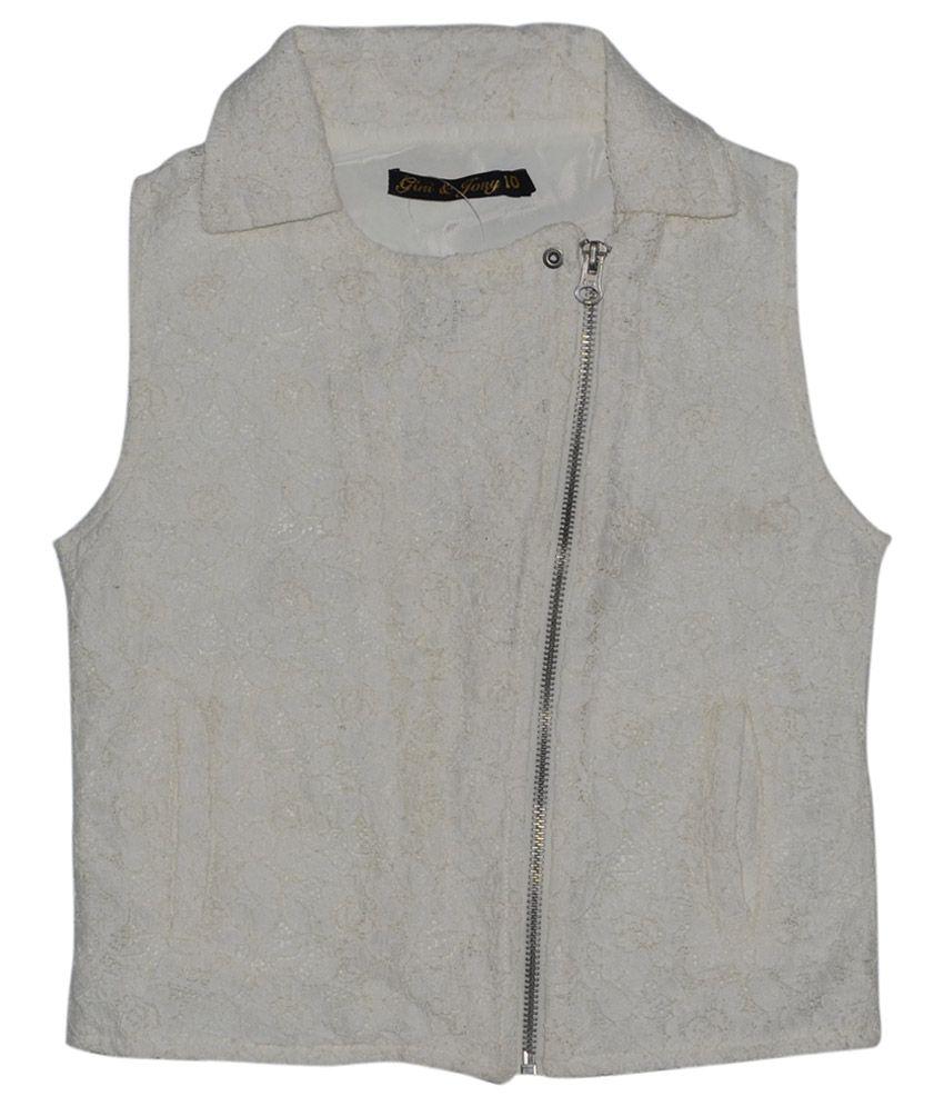 Gini & Jony Gray Solid Regular Fit Jacket