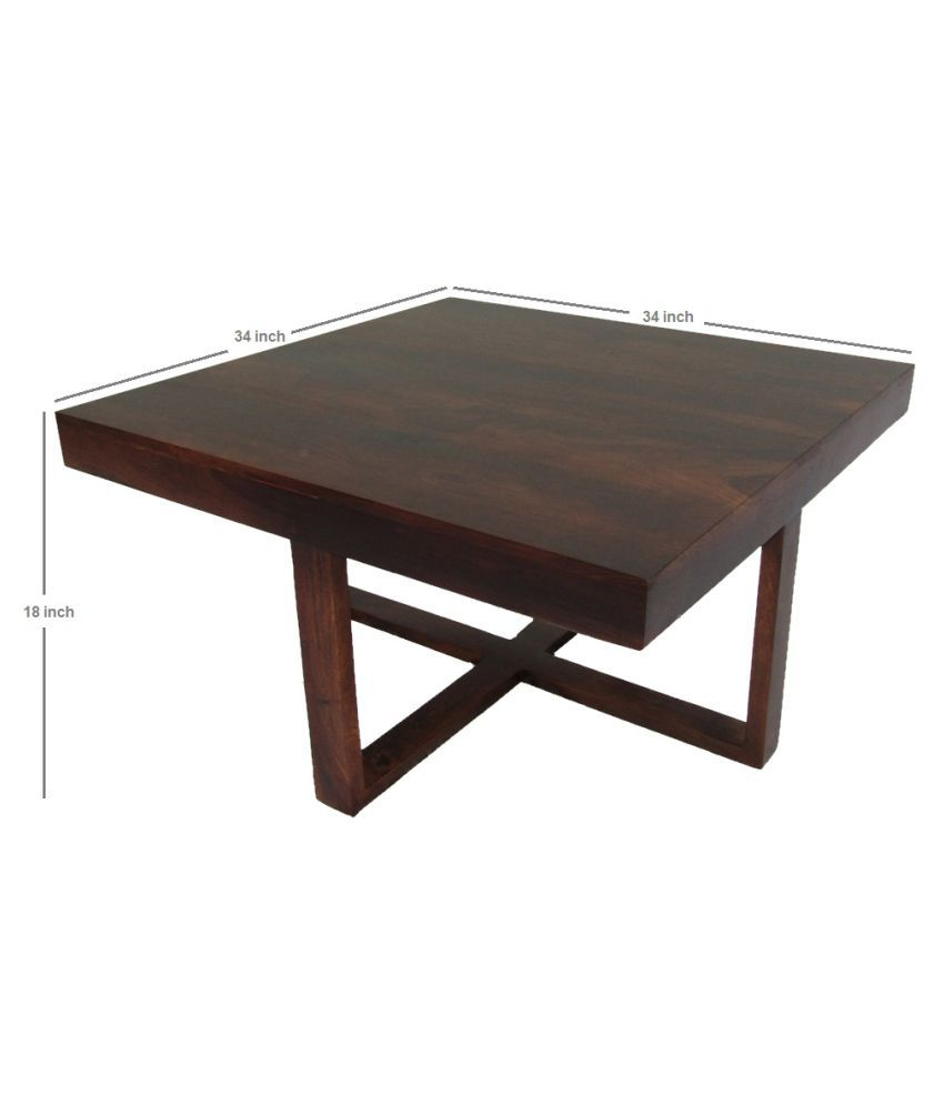 WoodFaber 4 Seater Coffee Table Stool Set Buy WoodFaber 4 Seater
