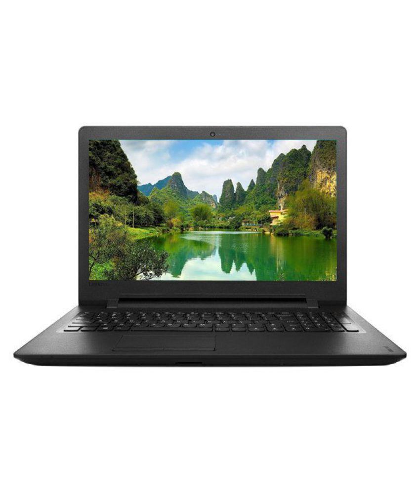 Lenovo Ideapad 110 (80T70016IH) Notebook (Intel Pentium- 4GB RAM- 500GB HDD- 39.62cm (15.6)- Windows 10) (Black)